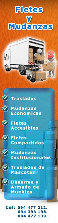 FLETES Y MUDANZAS URUGUAY
